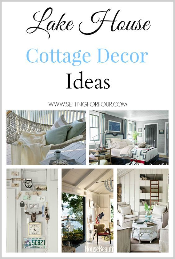 Lake House Cottage Decor | Define lake, Lakes and Patterns