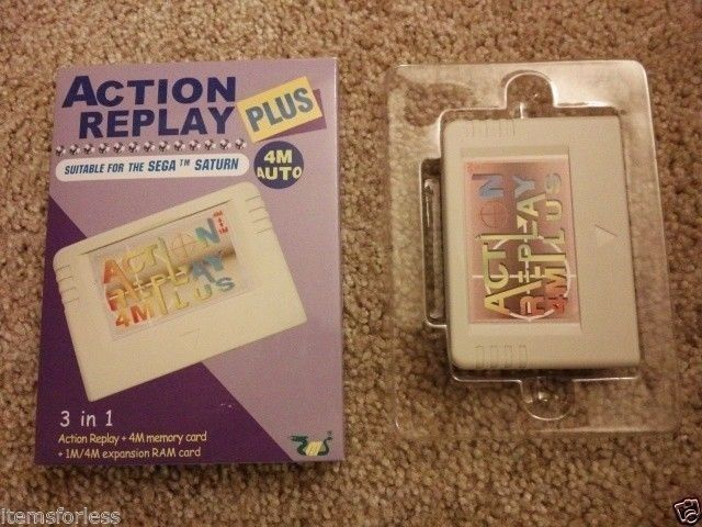 Details about Sega Saturn Action Replay Memory Card Codes