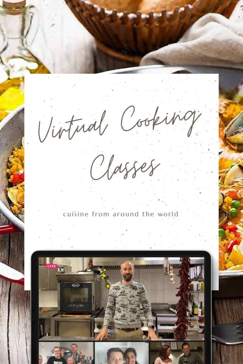 Top Virtual Cooking Classes Around The World Cooking Classes Traveling By Yourself Things To Do At Home