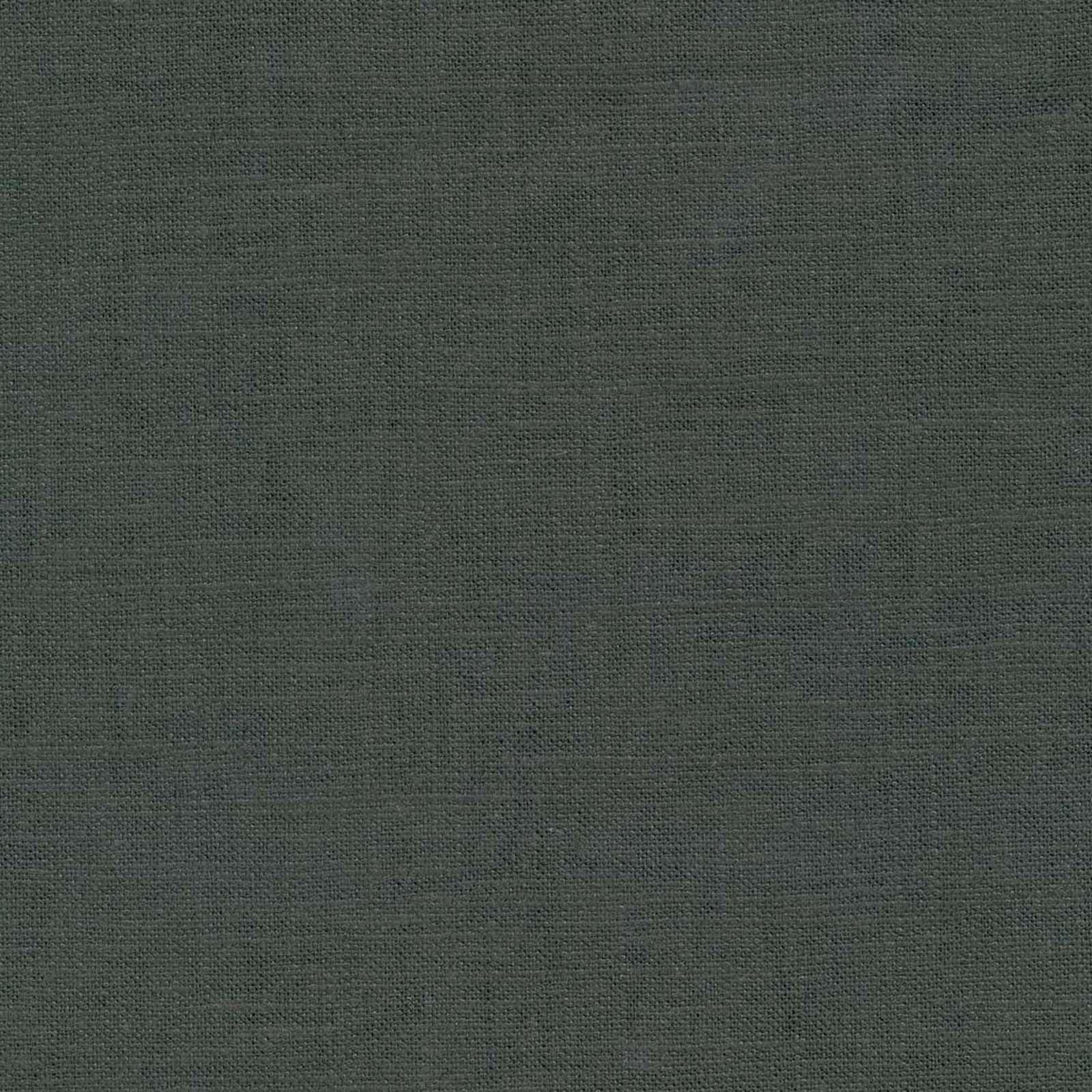 "Signature Series Solid Linen Fabric 54""Charcoal Decor"