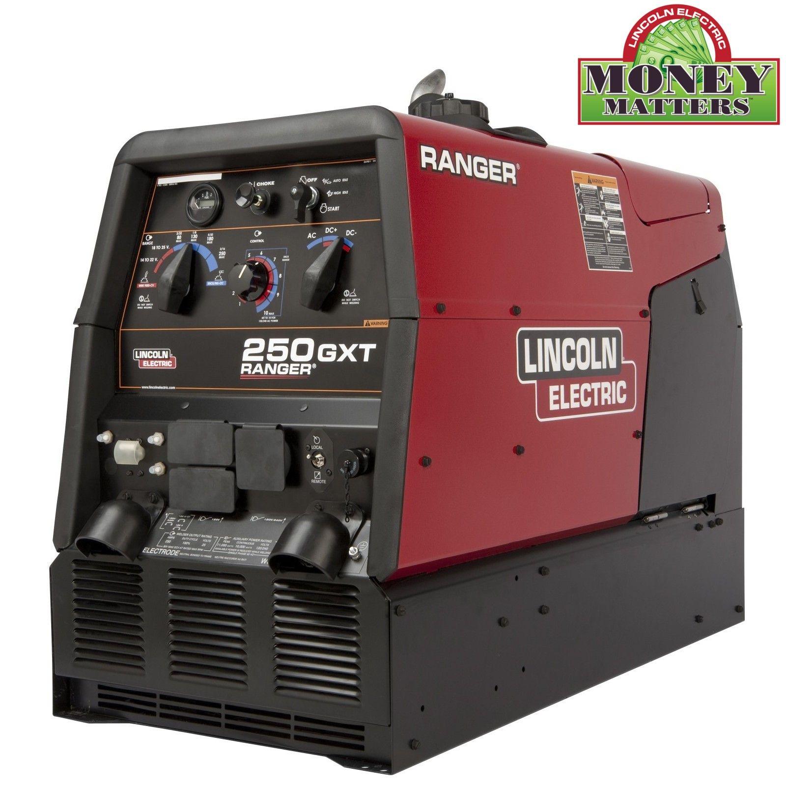 Lincoln Ranger 250 Gxt Welder Generator K2382 4 Welder Generator Electric Welding Welding Machine