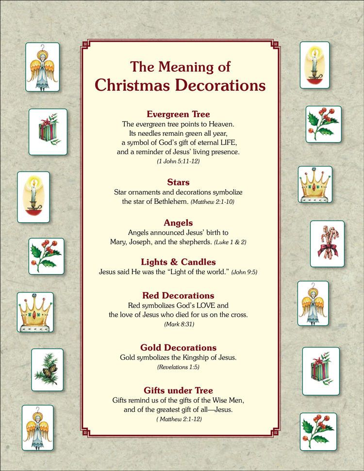 The Meaning Of Christmas Tree Ornaments Pdf Christian Christmas Christmas Poems Meaning Of Christmas