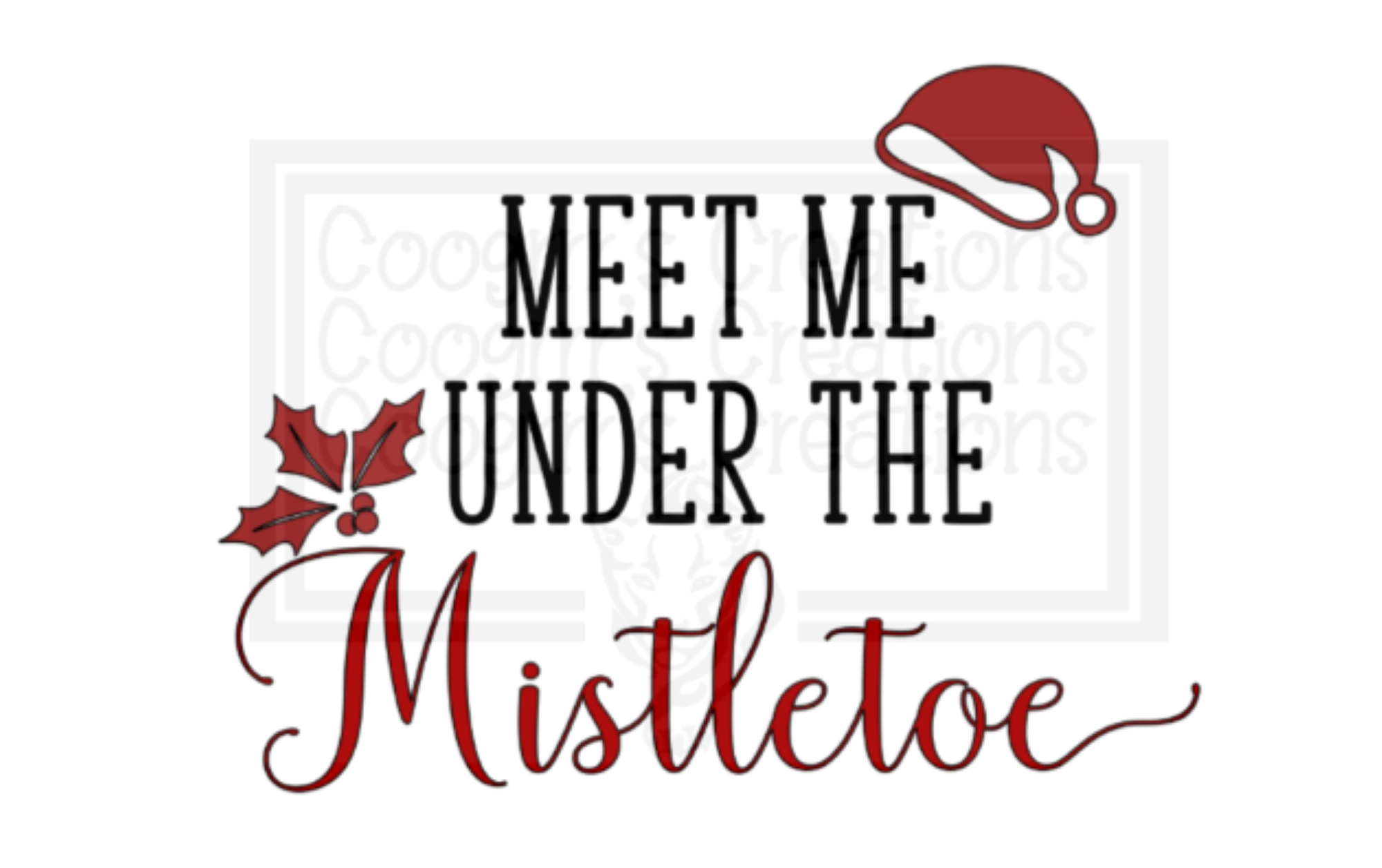 Download Meet me under the mistletoe svg, mistletoe svg, Christmas ...