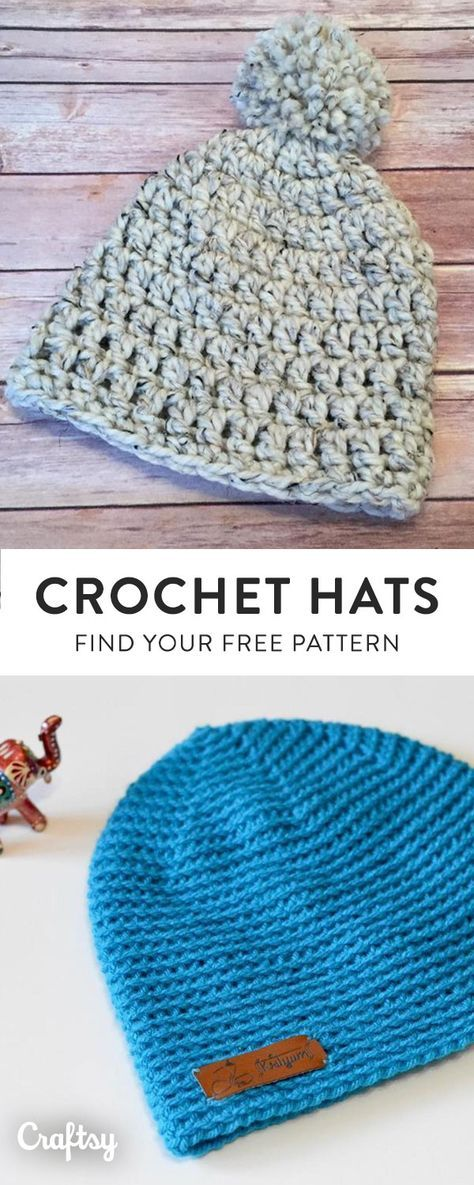 Our Favorite Crochet Hat Patterns To Keep You Cozy This Fall Create