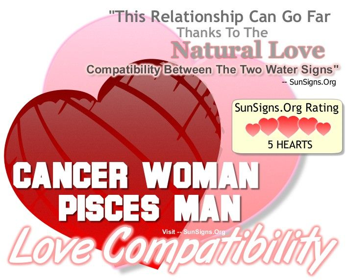 The Relationship Between The Cancer Woman And The Pisces -8844