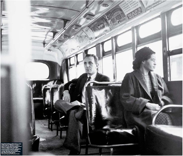 The 60th Anniversary Of Rosa Parks Refusing To Give Up Her Seat