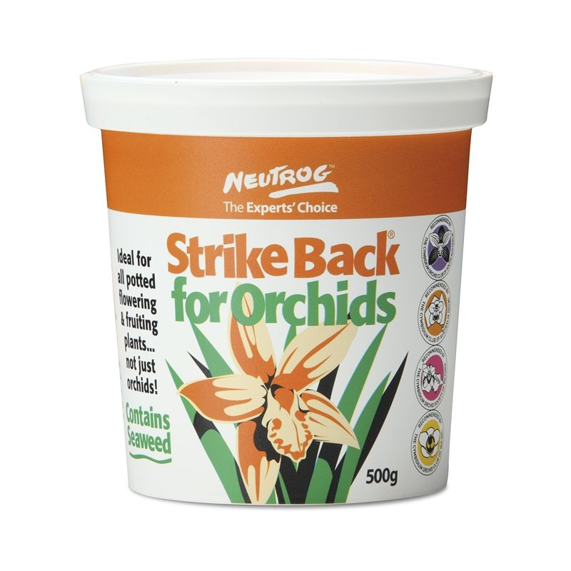Neutrog 500g Strike Back For Orchids Garden Fertiliser Garden Fertilizer Orchids Garden Orchids