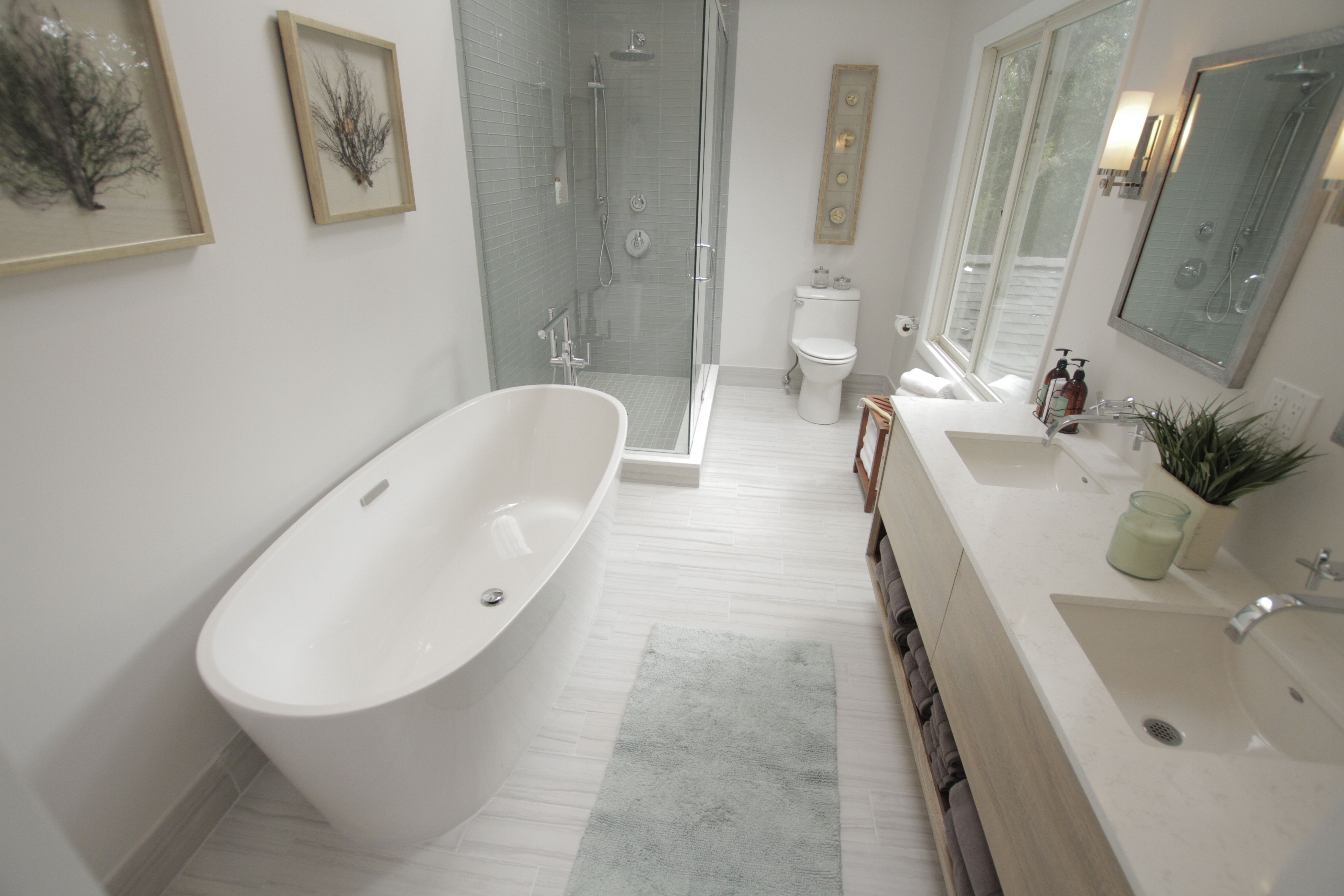 Featuring the Coastal Freestanding Tub, Champion 4 Toilet and Studio ...