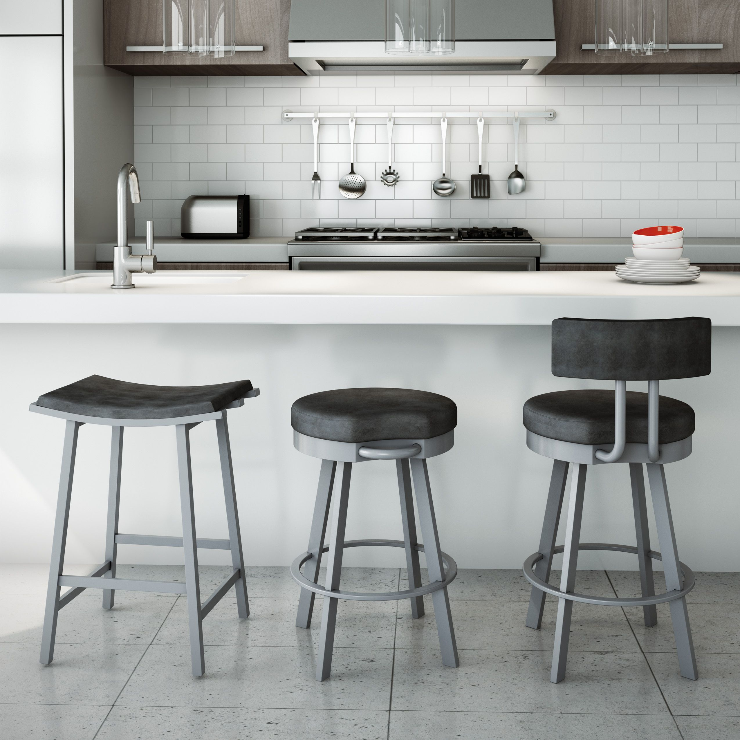 Amisco  Nathan Stool (40033)  Furniture  Kitchen