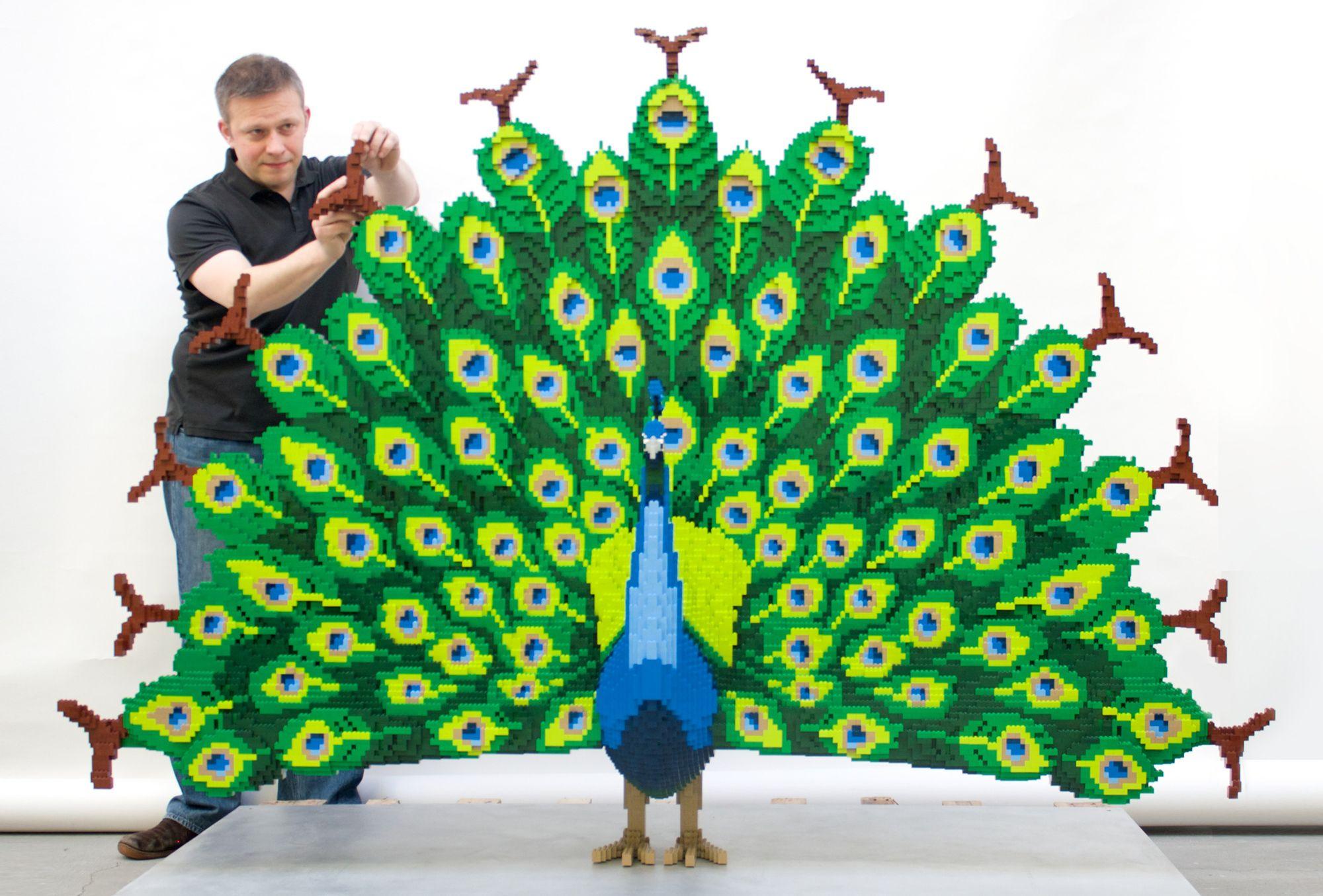 Arboretum Hosts Lego Art Exhibit Awesome Design