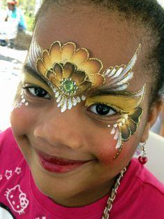 Facepainting Inspiration - OneStroke on Pinterest | One Stroke ...