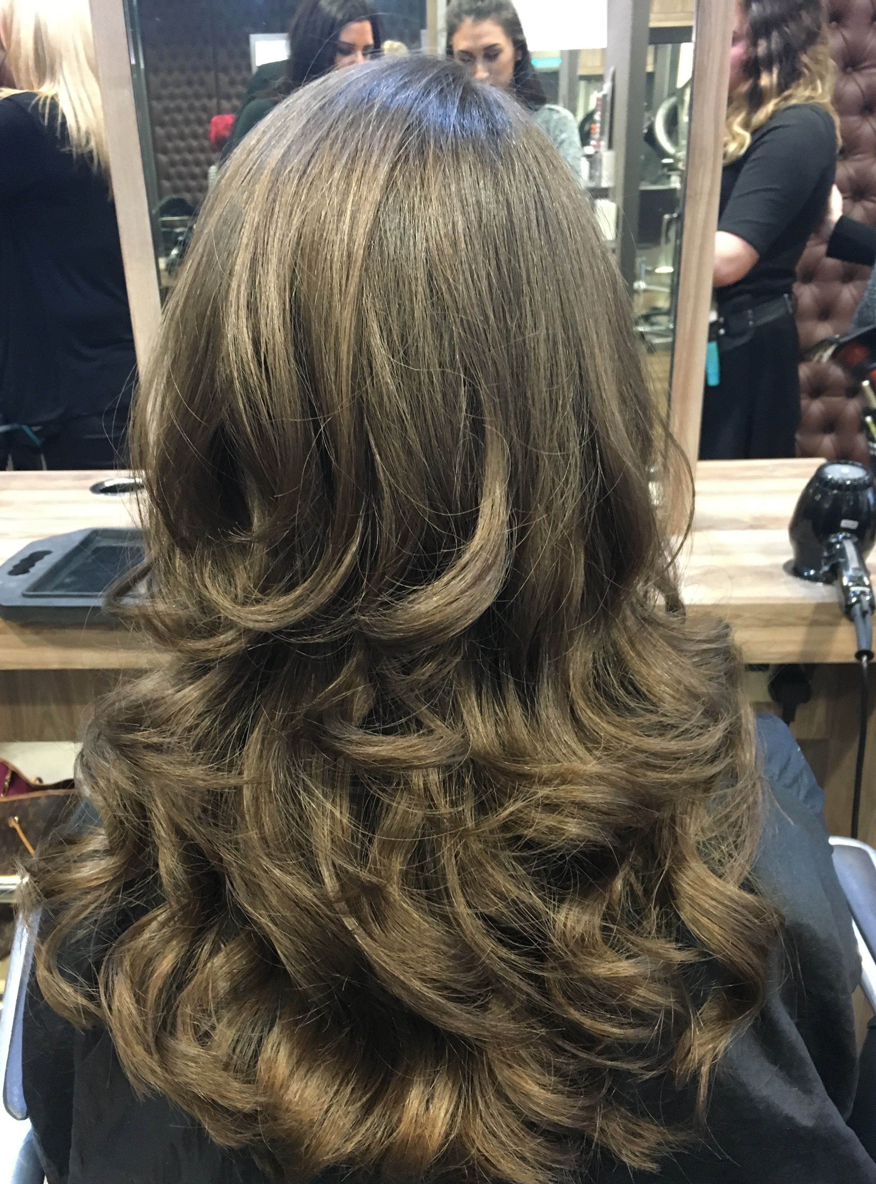 Curly Blowdry Curly Blowdry Long Hair Styles Long Layered Hair