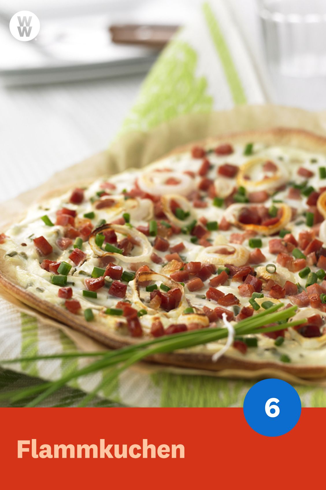 Photo of Flammkuchen