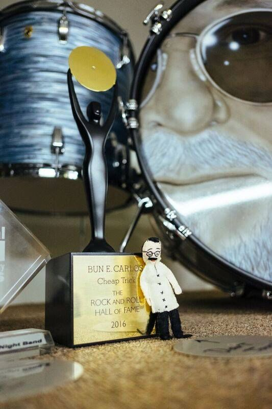 Bun E Carlos Rock And Roll Hall Of Fame Award.