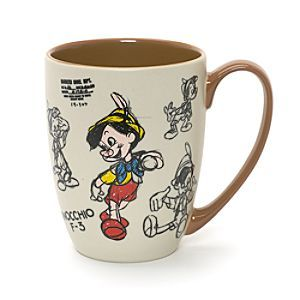 Resultado de imagen de pinocchio mug