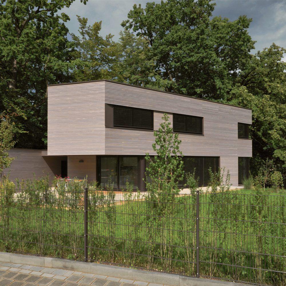 passivhaus-eco ® ARCHITEKTURBÜRO - Architektenhaus Villa Bauhausstil Einfamilienhaus Holzhaus Plusenergiehaus Nürnberg