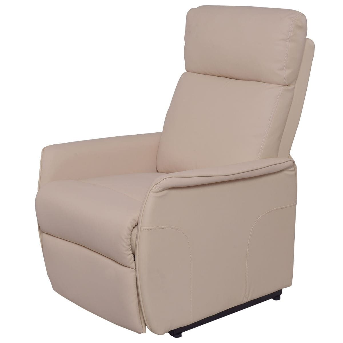 Costway PU Electric Lift Chair Power Recliner Reclining Sofa Lounge ...
