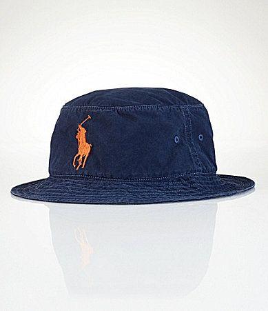 Polo Ralph Lauren Big and Tall CottonBlend Beachside Bucket Hat  Dillards 3e3d6abe79c