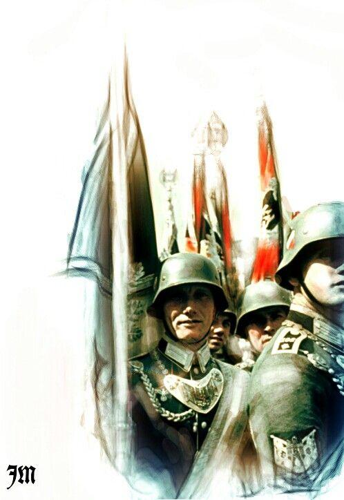 Hitler's 50th birthday. Joas Miller