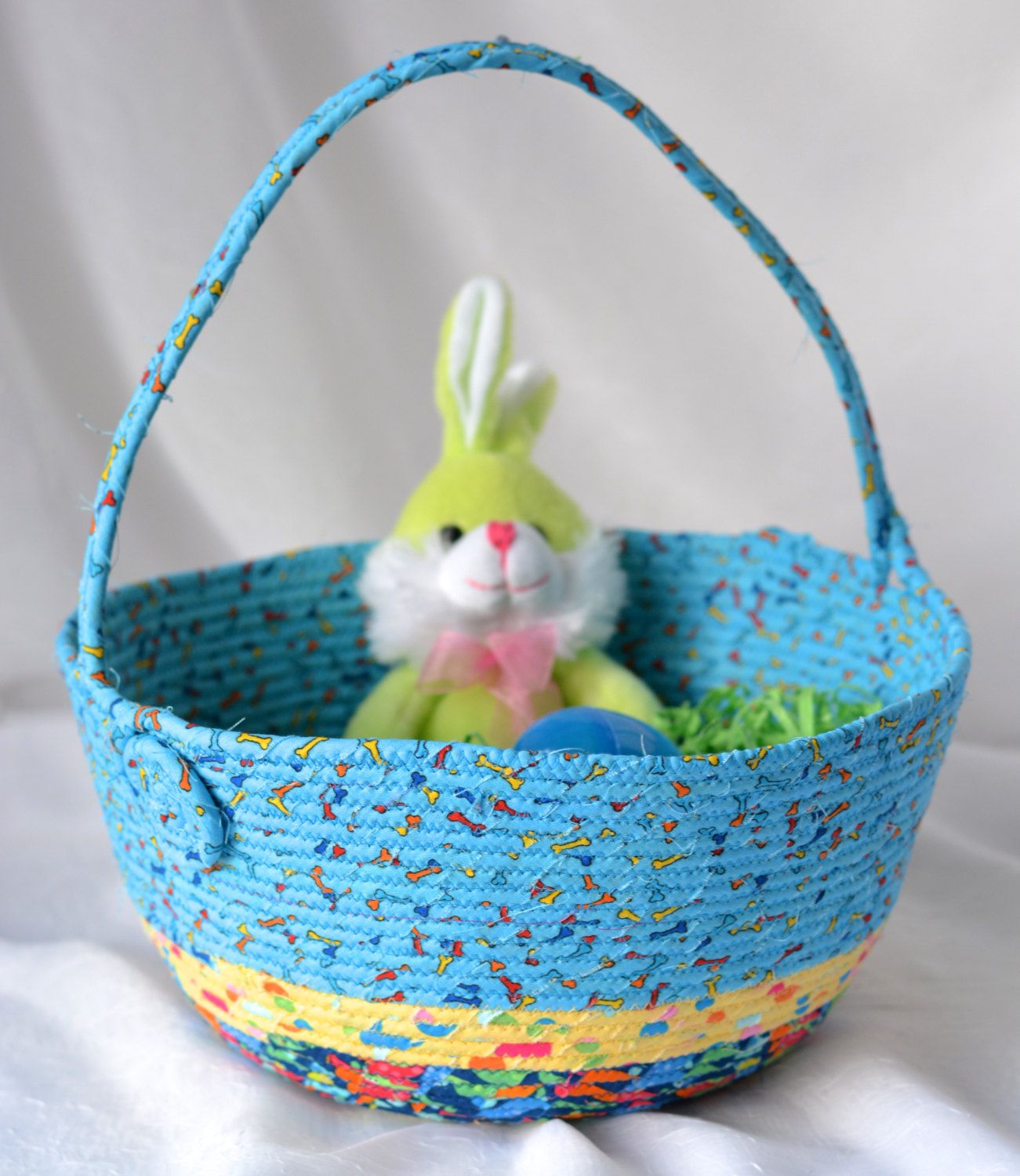 I handmade this fun blue easter basket handmade by me fun i handmade this fun blue easter basket fun boy easter basket lego storage easter egg hunt bucket jelly bean bucket by wexfordtreasures on etsy negle Image collections