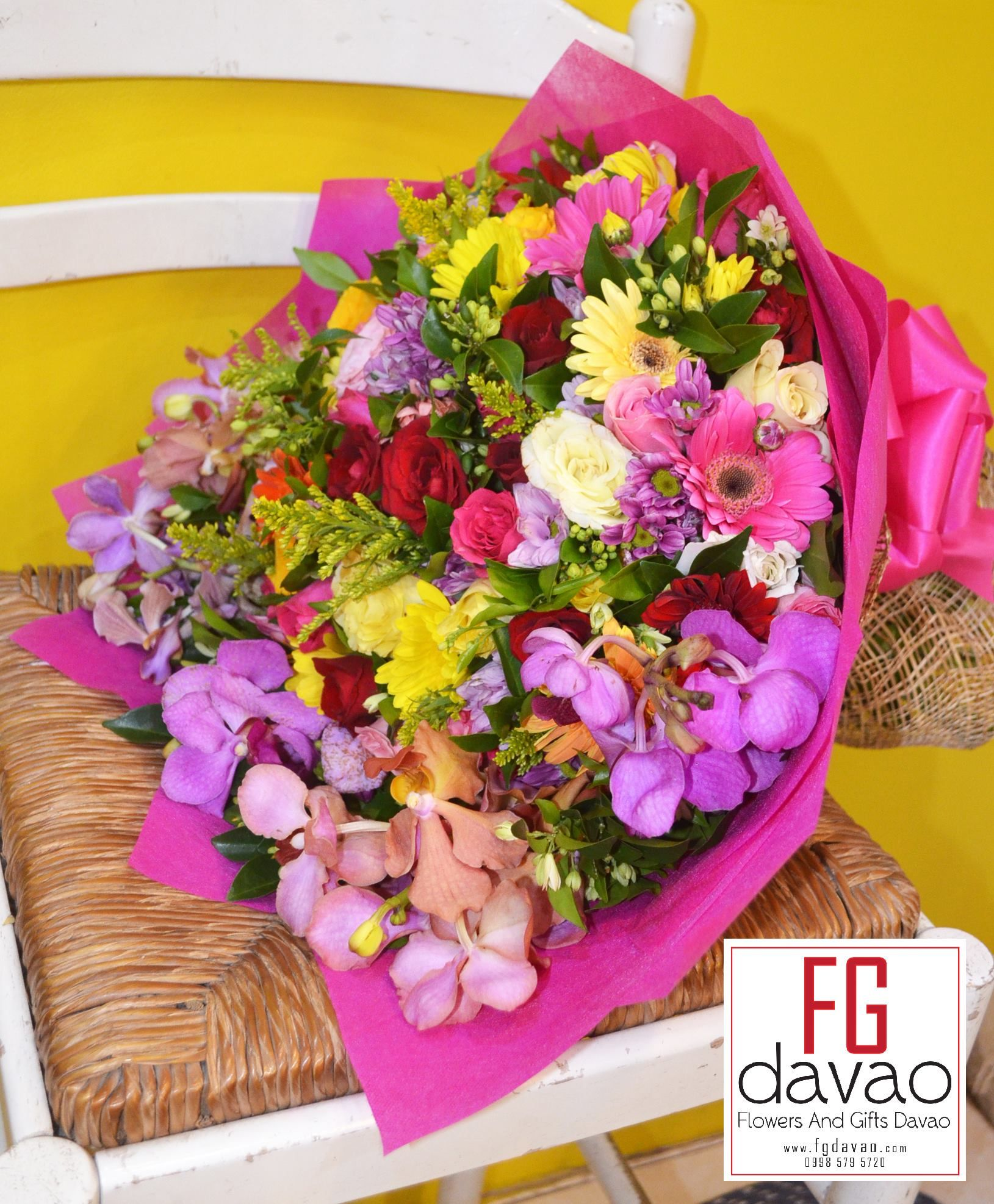 Premium Flower Bouquet Flower Delivery www.FGDavao.com 0998 579 5720 ...