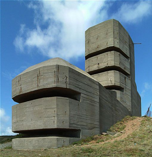 Top 30 Military Architecture Firms Building Design: The Bunkers Of Normandy