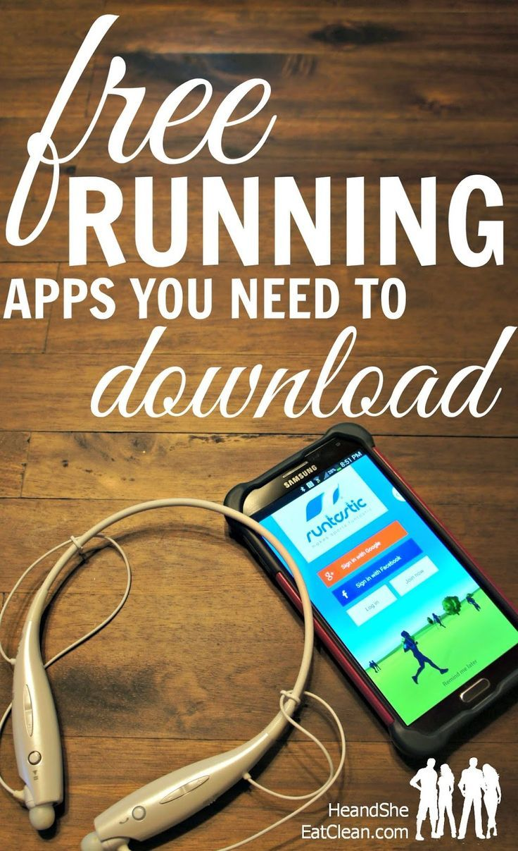 FREE Running Apps You Need to Have on Your Phone Running