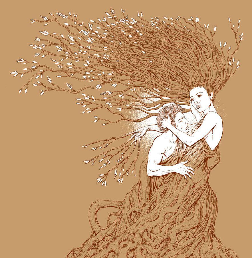 Apollo and Daphne by ~arosenlund on deviantART