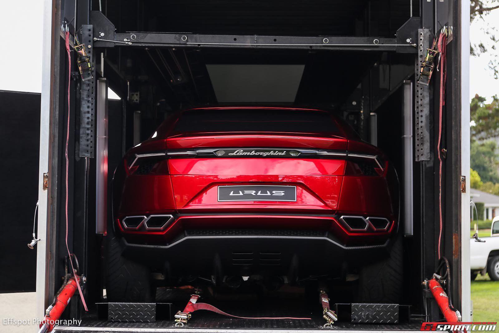 Lamborghini Urus Concept at Monterey