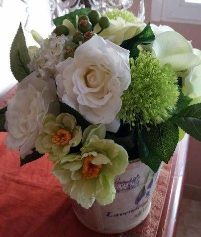 composiciones florales artificiales madrid - Composiciones Florales