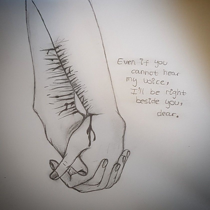 Sad Quotes About Depression Drawings: I Love You No Matter What.