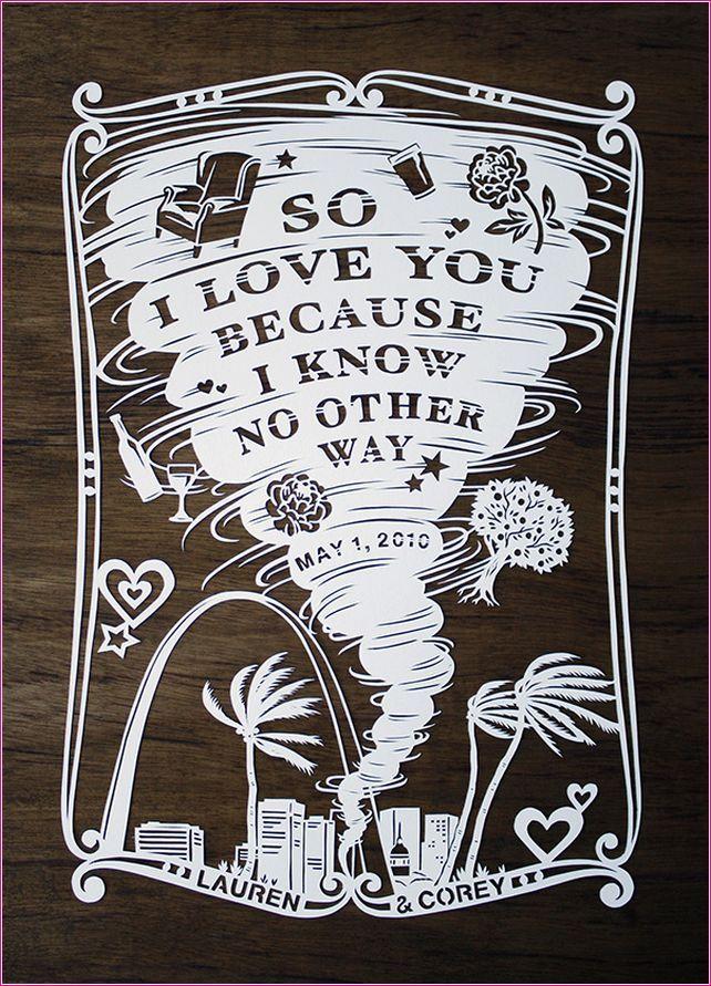 cut paper wedding invitation | invitation | Pinterest | Cut paper ...