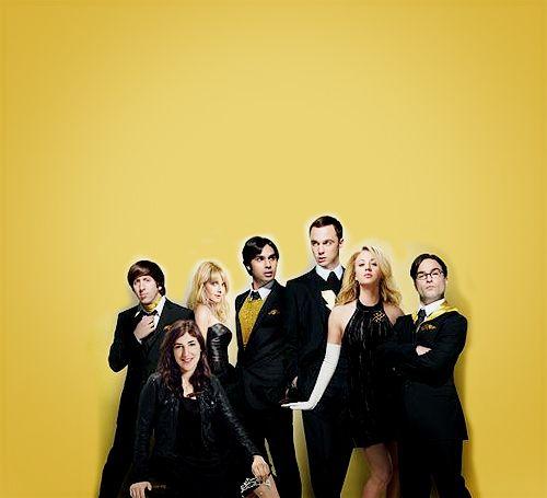 The Big Bang Theory Cast  - the-big-bang-theory Fan Art