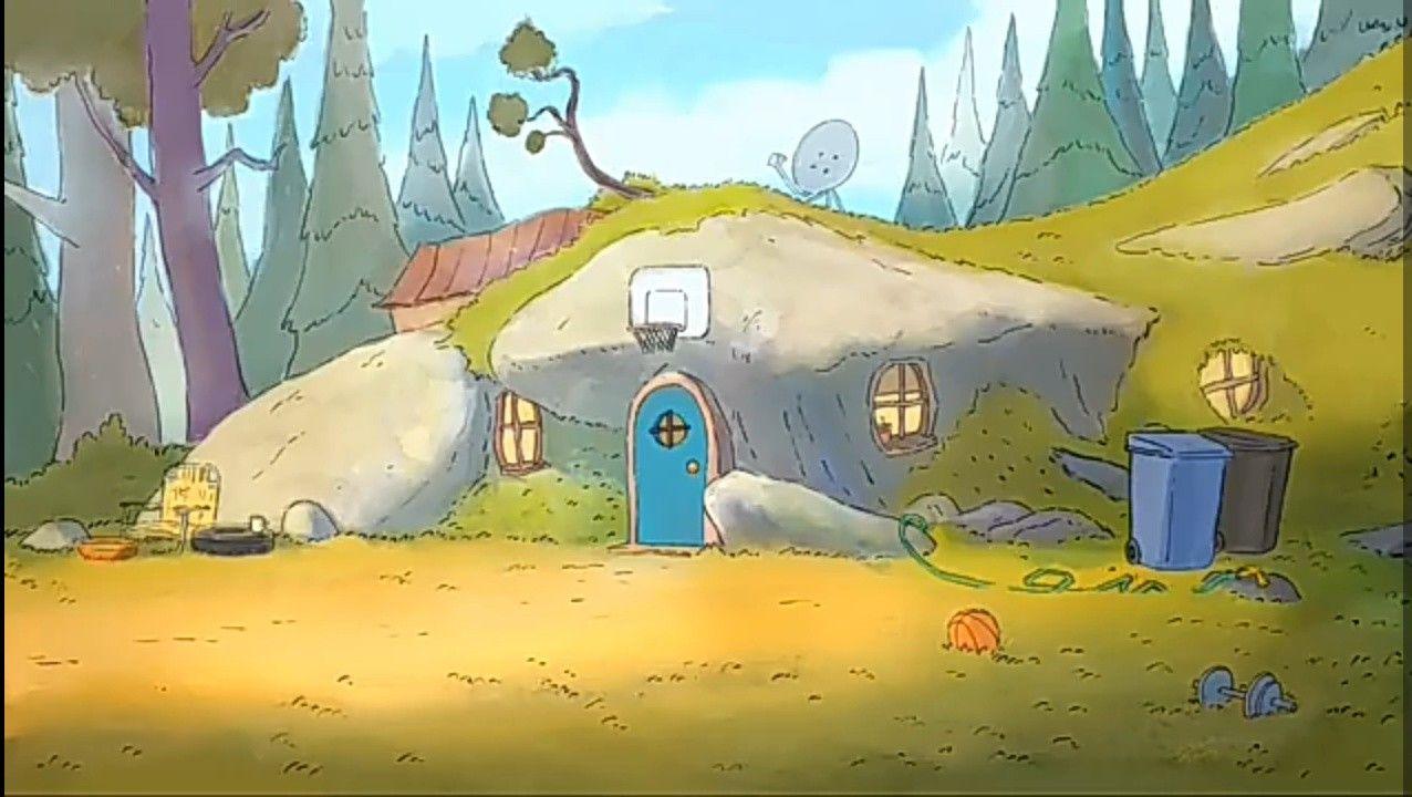 We Bare Bears Cave House Ursos Urso Caverna