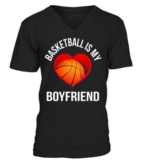 Basketball Is My Boyfriendu0027,Funny,PLayers,Sports,T Shirt V Neck T Shirt  Unisex Basketball Tshirts, Basketball Shirts, Basketball Tshirt Design, Basu2026