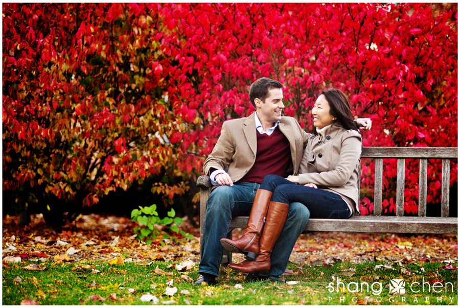 what to wear for fall engagement shoot