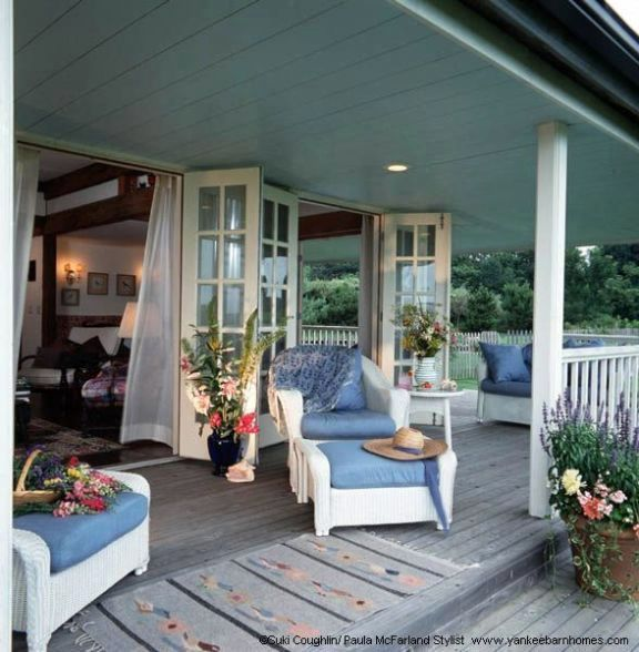 Porches Wrap Around Porches And Victorian On Pinterest: Barn Cottage With Wrap Around Porch