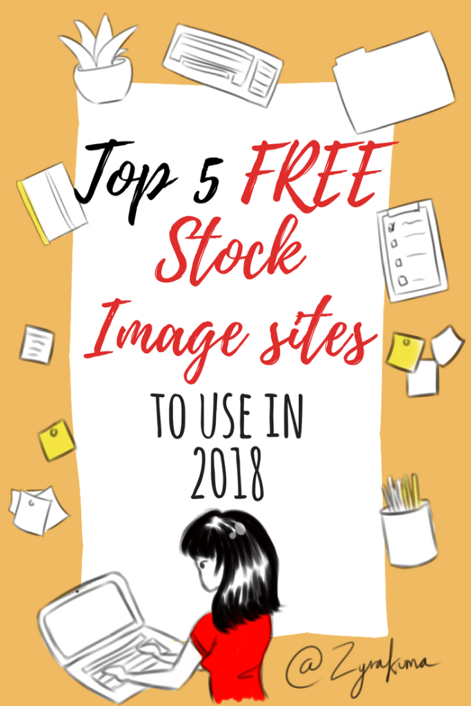 top 5 free stock image sites to use in 2018 pinterest