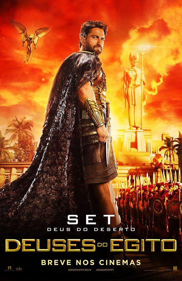 Deuses Do Egito Dia 25 Nos Cinemas Deuses Do Egito Filme Lixeira Carro Filme Deus