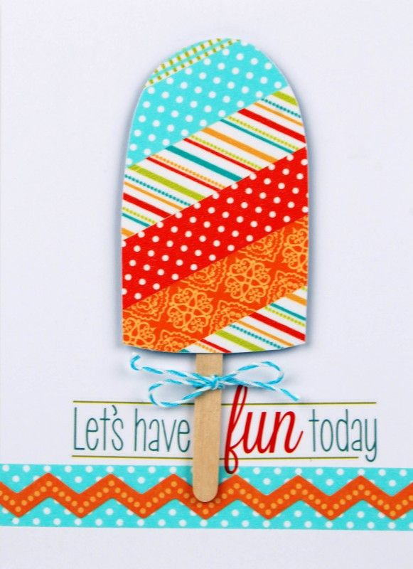 popsicle card