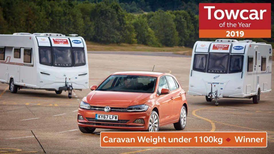 2019 best towcar of the year winners the caravan club