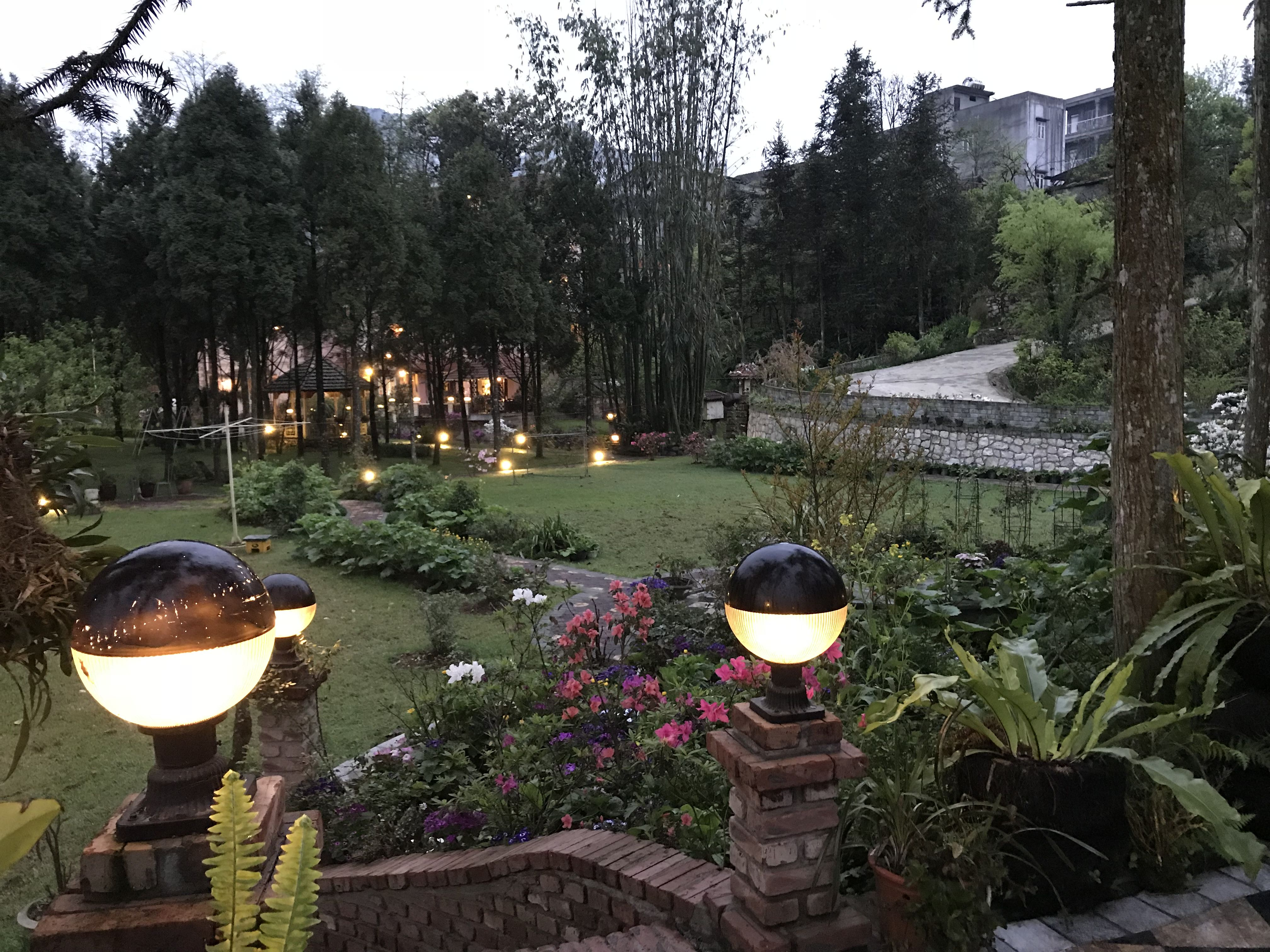 Garden at Sapa garden bnb