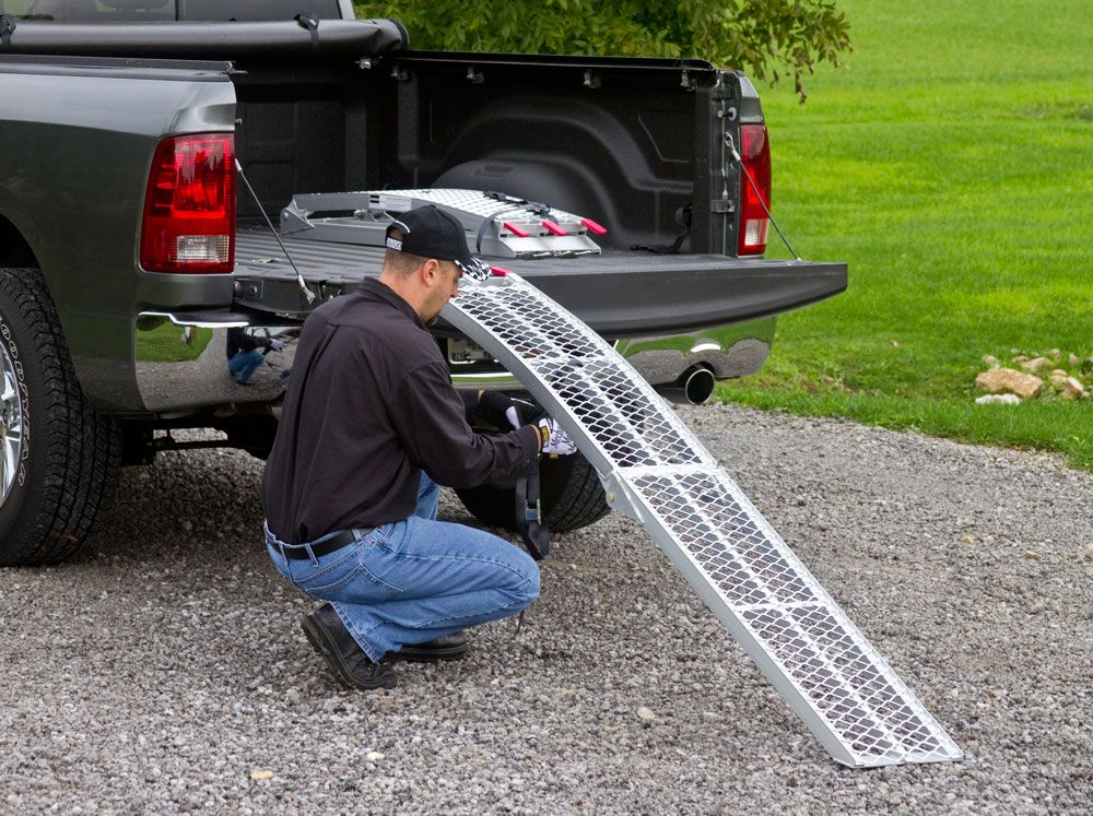 If you dont use safety straps to keep your loading ramps