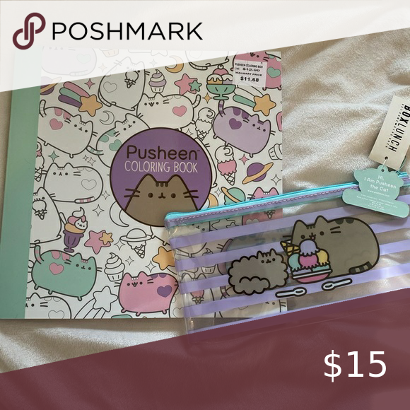 - Pusheen Coloring Book And Pencil Case In 2020 Coloring Books, Pusheen,  Pencil Case