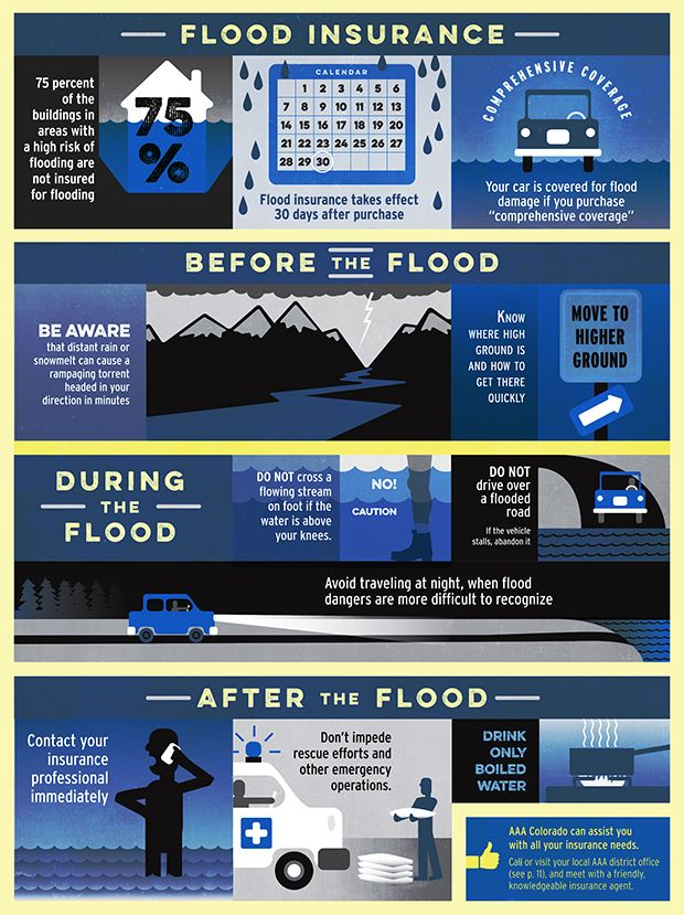 Infographic Flood Insurance The Floods Last Year Reminded Many