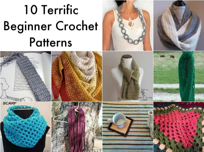 10 Simple Crochet Patterns For Beginners Simple Crochet Patterns
