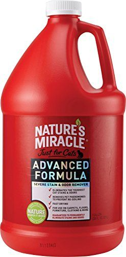 Nature S Miracle Just For Cats Advanced Stain And Odor
