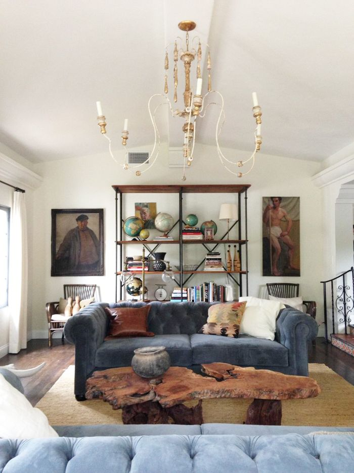 Living Room In Spanish Chests Cabinets A Decor Designs Rustic California Home The