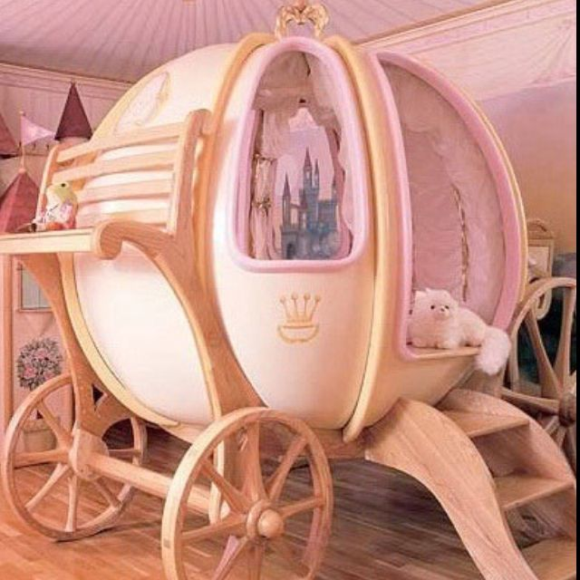 Princess carriage bed!