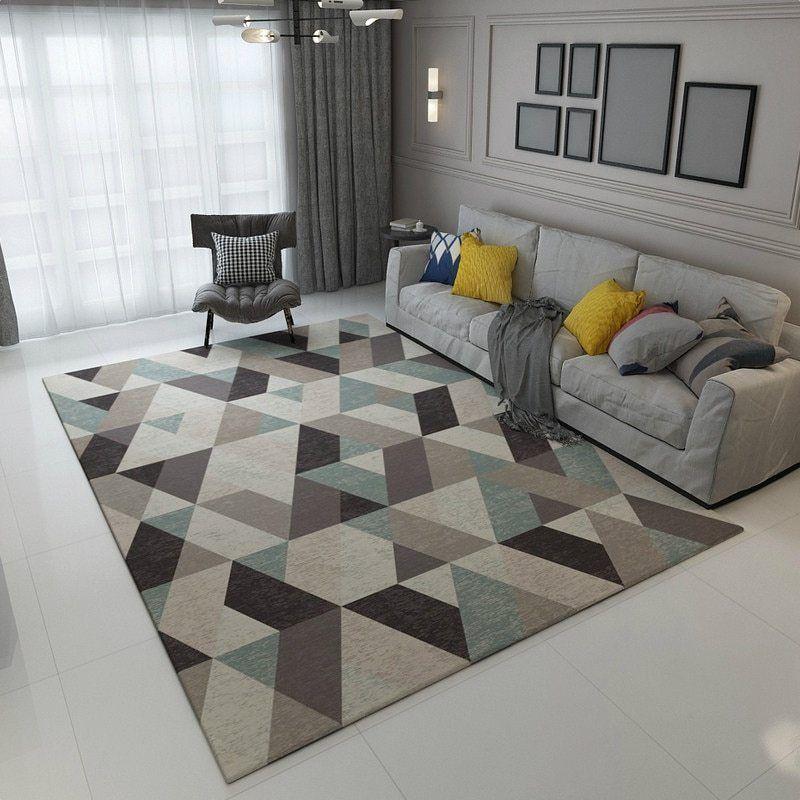 Geometric Simplicity Carpet In 2020 Living Room Carpet Interior